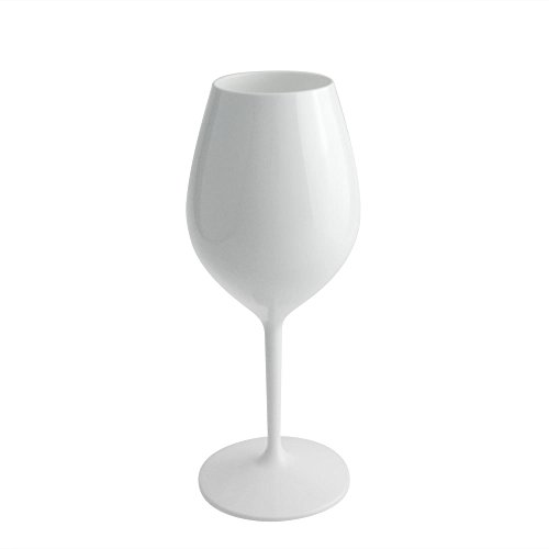 Weinglas Weißweinglas Rotweinglas Kelchglas Sektglas Mehrwegglas Kunststoff Plastik Glas Camping Outdoor Set 6 Stück von DoimoFlair (Strand Weingläser)