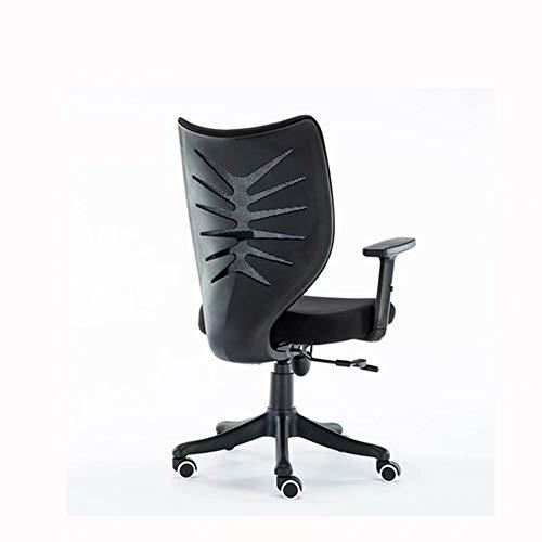 Schwarzer Computer-Studien-Aufzug-Stuhl Mesh Armrest Rotating Office Business Meeting Training Chair
