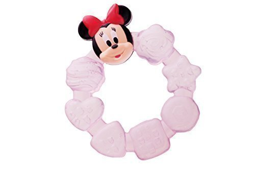 Kühlbeißring wassergefüllt Disney Minni Maus ab 3 Monate Beißring