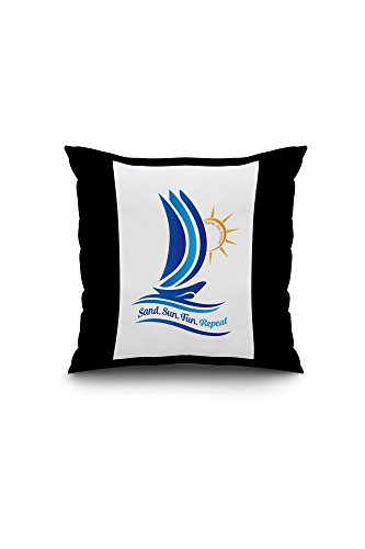 livin-the-dream-sand-sun-fun-repeat-20x20-spun-polyester-pillow-case-black-border