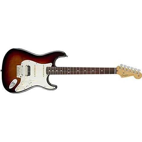 Fender American Standard Strat HSS Shawbucker RW 3TS · Guitarra eléctrica