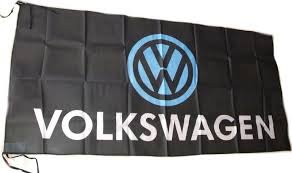 VOLKSWAGEN Flagge 5' x 2.5' BEETLE VW Fox Polo Touareg