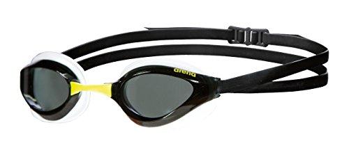 arena Erwachsene Unisex Wettkampf Schwimmbrille Python, Smoke-White-Black, one Size