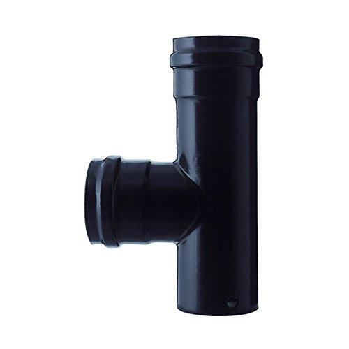 Speichern Pellets Rohr t f / f schwarz d. 12.