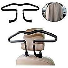 Percha colgador universal para reposacabezas de coche. Chaquetas, trajes, camisas. Material muy resistente. ¡Ropa sin arrugas!