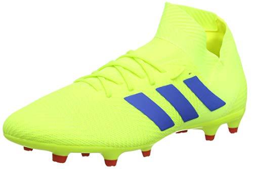 adidas Herren NEMEZIZ 18.3 FG Fußballschuhe Gelb (Solar Yellow/Football Blue/Active Red), 43 1/3 EU