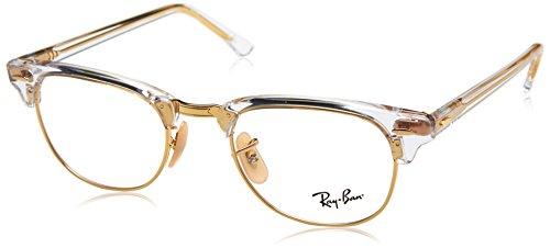 Ray-Ban Unisex-Erwachsene 0RX 5154 5762 49 Brillengestelle, Transparent,
