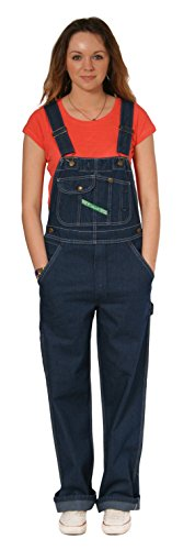 Key Industries - Premium Latzhose - Dunkle Indigoblau arbeit jeanslatzhose Latzh KEY07-W30-L30