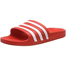 Adidas Adilette Aqua Zapatos de playa y piscina Unisex adulto, Multicolor (Multicolor 000), 47 EU (12 UK)