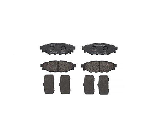 Brembo P78020 Hintere Bremsbeläge, Anzahl 4