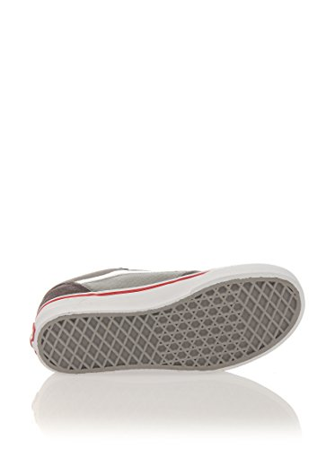 Vans Y Milton (Suede Canvas), basket mixte enfant Pewter Wild Dove