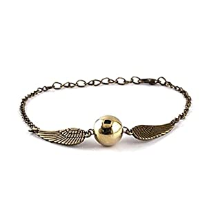 Schnatz Silber Gold Armband Harry Potter Längenverstellbar