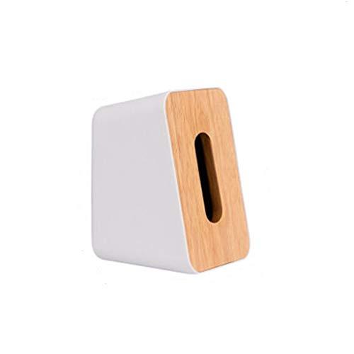 Caja pañuelos Estilo japonés Cubierta madera simple