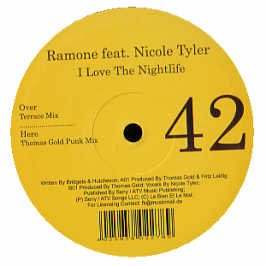 I Love the Nightlife [Vinyl Single]