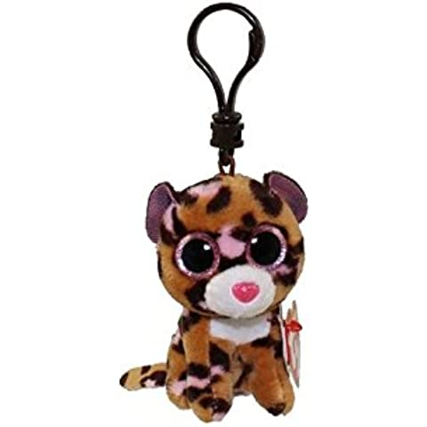Ty Beanie Boo-Peluche, Patch Il Leopardo, 7,62 Cm (3