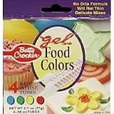 Betty Crocker alimentos color Gel, 2,72Ounce--12PER caso.