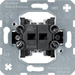 Preisvergleich Produktbild Berker 303520 Jalousienschalter-Einsatz