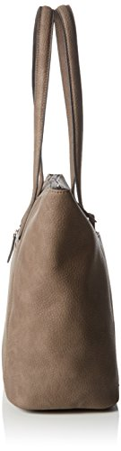 GERRY WEBER - Talk Different II Shopper, Borsa shopper Donna Marrone (Braun (taupe 104))