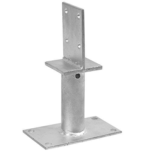 1 Stück profiBAUline Pfostenträger T-Form zum aufdübeln Grösse 250 Höhe