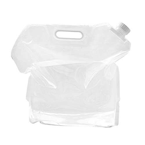 Generic Folding 10L PE Drinking Water Bag Pouch Container Barrel...