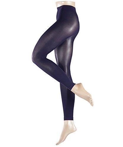 FALKE Damen Leggings Pure Matt, 50 Den, Violett (Bluecollar 6733), 40 (Herstellergröße: M)
