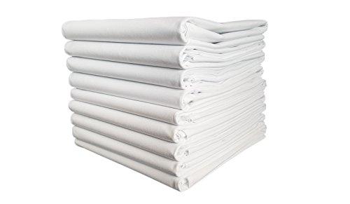 TM MAXX TischtuchBetttuch BettlakenHaushaltstuch Sommerdecke Laken in Hotelqualität⁕ 140g/m² (4) ⁕ 6 Größen⁕ gesäumt an 4 Seiten ⁕ 50% Baumwolle 50% Polyester ⁕ ohne Gummizug (160x260cm)