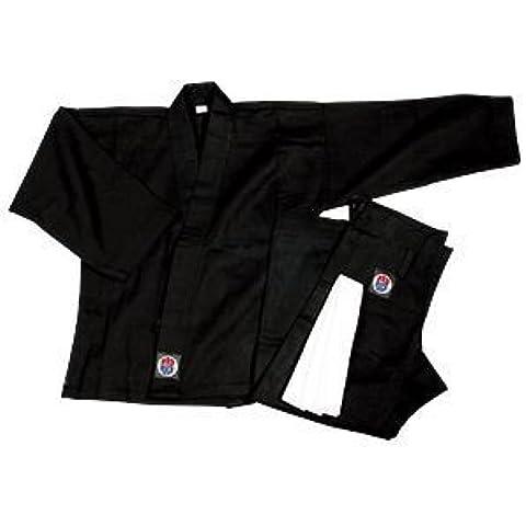 6 onza ProForce. 100% algodón uniforme de estudiante - negro (tradicional) tamaño (Tamaño del niño 4-6) 0000 - EA.