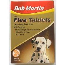 Bob Martin Flea Tabletten Hunde 3s