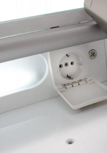 Spiegelschrank Eintürig – Badezimmerschrank von Galdem 100 cm - 5