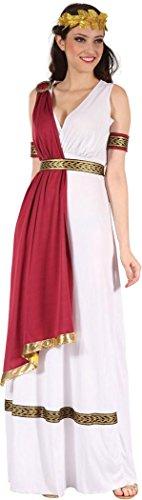 (Damen Kostüm Altrömisch Historisch Griechische Göttin Toga Kostüm Outfit)