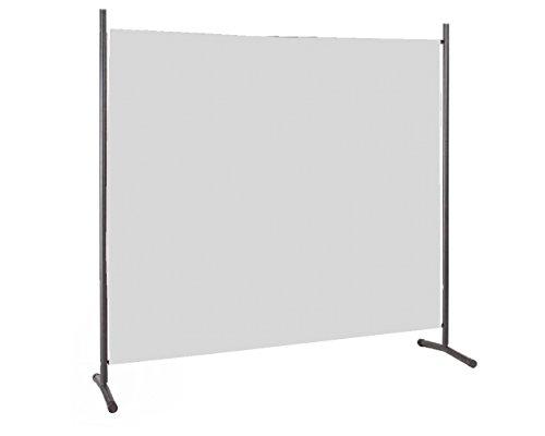 IMC Manufactoria Stellwand grau 100x180cm Paravent Raumteiler Trennwand Sichtschutz günstig OVP