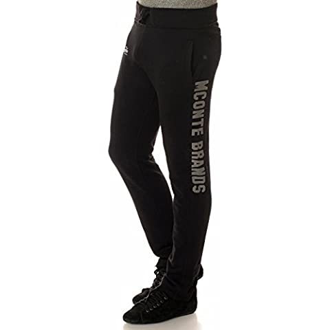 M Conte Pantalones Deportivos de chándal Gimnasio Jogging hombre Negro Azul Gris M L XL XXL XXXL Rocco