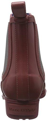 Marc O'Polo Gummistiefel, Bottes Classiques femme Rouge - Rot (Wine 385)