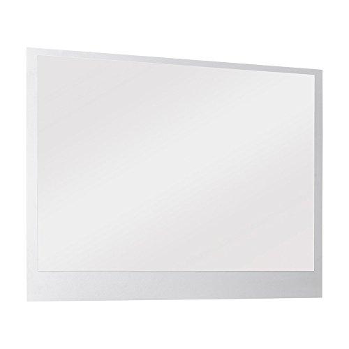 FMD Möbel 484-002 Wandspiegel Holz, 88,5 x 2 x 67,5 cm, weiß
