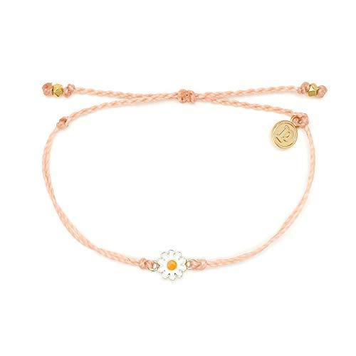 Goldtone Light Peach/cream 5 Systematic Bangle Bracelet