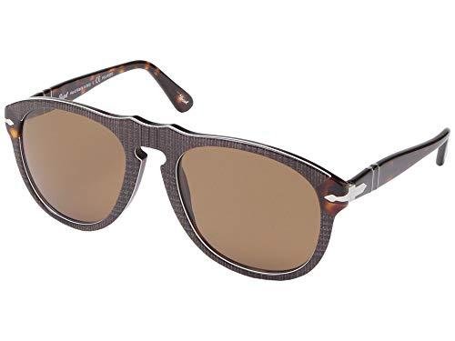 Ray-Ban Herren 0PO0649 Sonnenbrille, Mehrfarbig (P. Galles Brown), 54.0