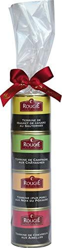 Rougie Terrinen Geschenkset, 400g, 4 x 100g