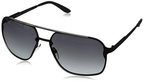 Carrera Herren 91/S HD 003 Sonnenbrille, Schwarz (Matt Black/Grey Sf), 64