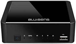 Blusens WebTv-W - Reproductor multimedia (FullHD, DVB-T, USB, HDMI, Wi-Fi ), color negro