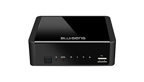 Blusens WebTv-W - Reproductor multimedia (FullHD, DVB-T, USB, HDMI, Wi-Fi ), color...