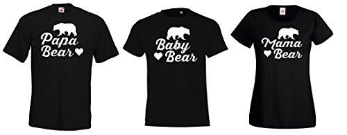 Youth Designz - Sweat-shirt à capuche - À logo - Manches Courtes - Garçon Baby Bear / Weiß