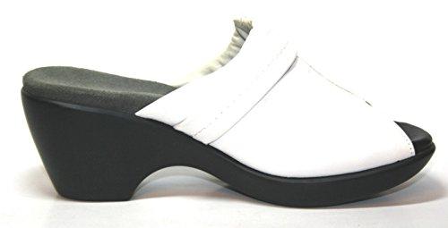 Chaussures pour femme naot utopia 90211 femme & mules à talons Blanc - Blanc