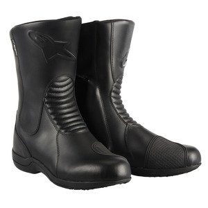 Bota de moto impermeable Alpinestars Andes Waterproof, Hombre mujer, Alpinestars - Bottes Andes Wp Noir, negro