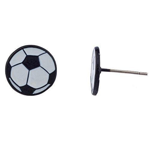 lux-zubehr-schwarz-und-wei-soccer-team-sport-ohrstecker