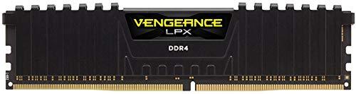 Corsair Vengeance LPX 16GB (1x16GB) DDR4 2400MHz C16 XMP 2.0 High Performance Desktop Arbeitsspeicher Kit, schwarz - Performance-desktop-speicher