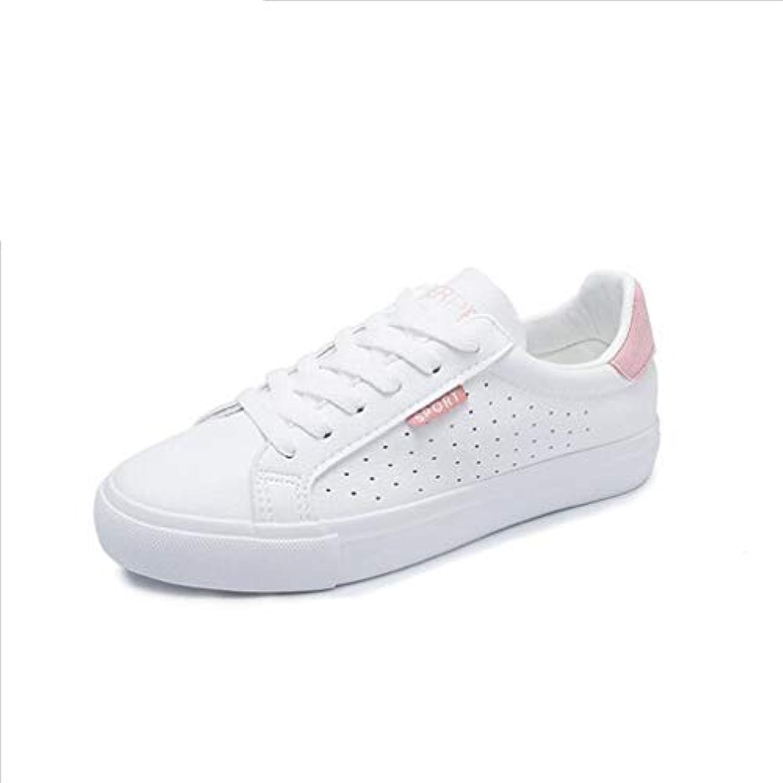 Exing donna's scarpe 2018 Summer Fall New Scarpe da Ginnastica Traspiranti Punta Tonda Piatta Little bianca scarpe... | Arte Squisita  | Uomini/Donna Scarpa