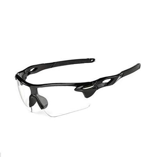 Westeng Fahrradbrille,Sportsonnenbrille Dunkles Licht, Nacht-Kontrast-Brille Nachtfahrbrille Nachtsichtbrillen Anti-Glanz polarisierte Brille mit gelben Gläsern
