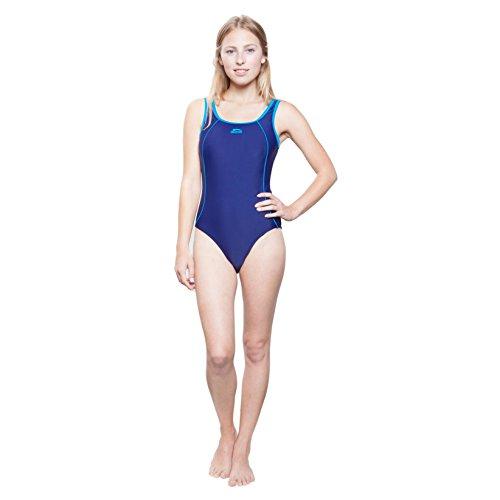 Slazenger Badeanzug für Mädchen, mit klassischen X-Ausschnitt am Rücken, langlebigen Materialien! Der ideale Schwimmanzug fürs Schwimmbad, den See oder das Meer. Passend ab 7-8 Jahre , 9-10 Jahre , 11 schwarz/pink