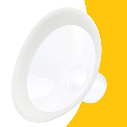 MEDELA Coppe per il Seno PersonalFit Flex, con Tecnologia Flex per Più Latte e Più Comfort, 2 Pezzi, Taglia M, 24 mm