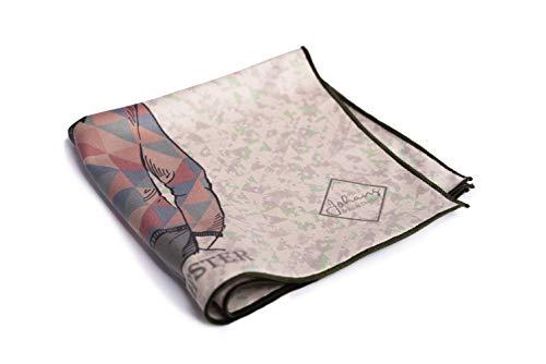 Johans Premium Mikrofasertuch zur Reinigung hochsensibler Oberflächen von Smartphone, Tablet, Brille, Display, Kamera & Co. | Displaytuch, Brillenputztuch, Reinigungstuch | Funktion & Design | 30x30cm